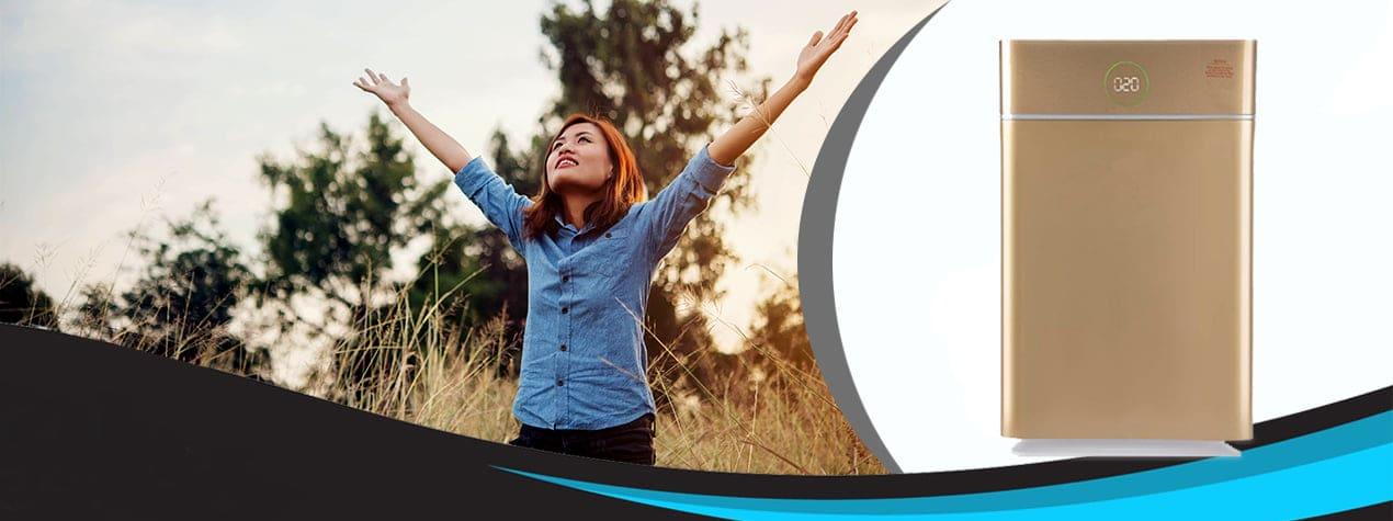 فروش انواع دستگاه های تصفیه هوای خانگی و اداری